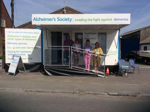 Alzheimer's Society Bus