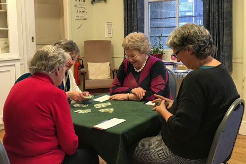 RSM Members playing Bridge