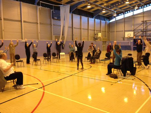RSM Members exercising at Freedom Leisure